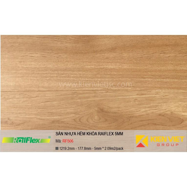 Sàn nhựa hèm khóa Raiflex RF506 | 5mm