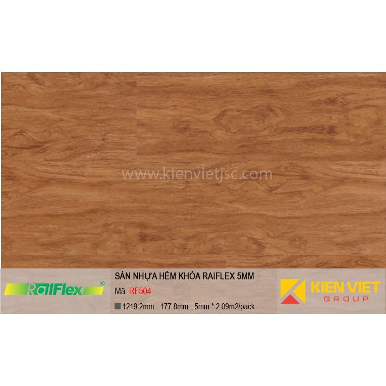 Sàn nhựa hèm khóa Raiflex RF504 | 5mm